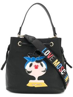 сумка-мешок Charming  Love Moschino