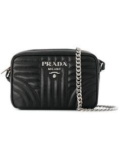 сумка-футляр bevelled  Prada