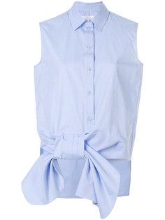 рубашка без рукавов с бантом  Victoria Victoria Beckham