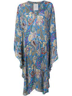 шифоновое платье-кафтан Etro