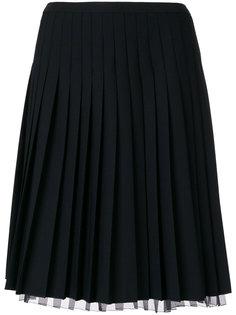 короткая плиссированная юбка  Marc Jacobs