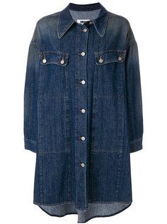 длинная джинсовая куртка Mm6 Maison Margiela
