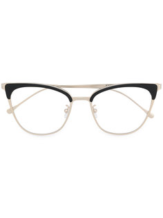 contrast cat-eye glasses Kyme