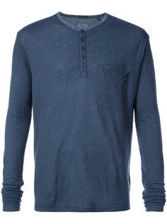 рубашка с короткой планкой  Atm Anthony Thomas Melillo
