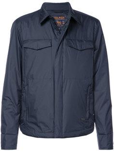 дутая куртка-рубашка  Woolrich