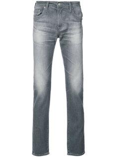 выбеленные прямые джинсы Ag Jeans