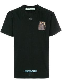 футболка с фото-принтом  Off-White