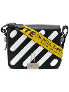 сумка-сэтчел с полосатым принтом Off-White