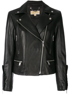 байкерская куртка с рюшами Michael Michael Kors