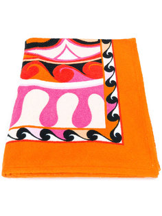 шарф с комбинированным принтом  Emilio Pucci