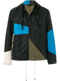 асимметричная куртка с капюшоном  Lanvin