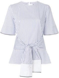 полосатая блузка с запахом Victoria Victoria Beckham