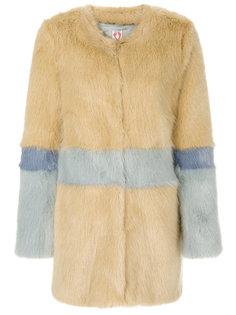 пальто с контрастными панелями Shrimps