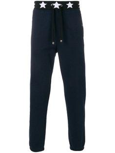 спортивные брюки с принтом звезд Just Cavalli