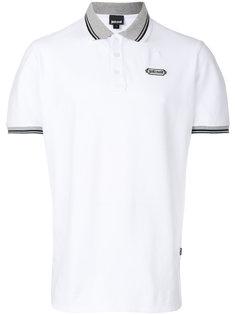 футболка-поло с контрастным воротником Just Cavalli