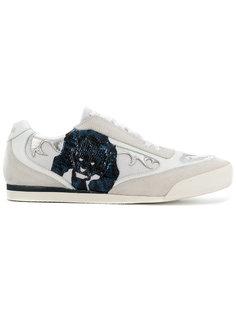 кроссовки с пантерой Just Cavalli