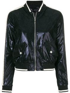 куртка-бомбер с металлическим отблеском Just Cavalli
