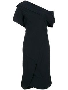 приталенное платье на одно плечо  Vivienne Westwood