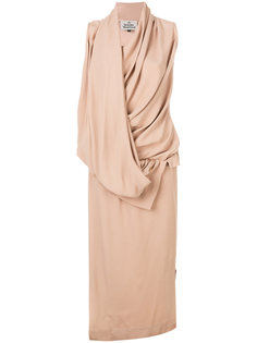 платье с драпированной деталью Vivienne Westwood