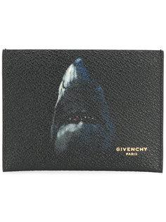 визитница с принтом акулы Givenchy