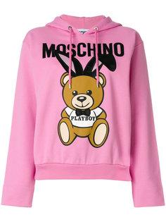 толстовка с капюшоном Playboy Toy Bear Moschino