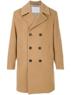 двубортное пальто Mackintosh