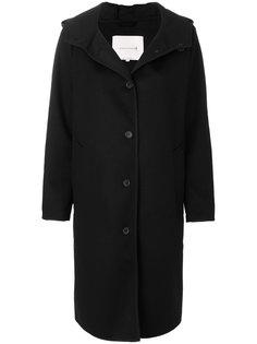 однобортное пальто с капюшоном Mackintosh