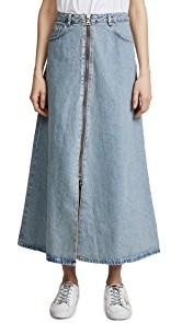 Won Hundred Elna Denim Skirt