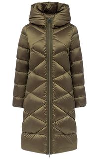 Длинная стеганая куртка Madzerini