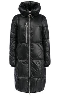 Пальто на синтепоне с капюшоном Malinardi