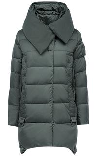 Куртка на искусственном пуху с капюшоном Clasna