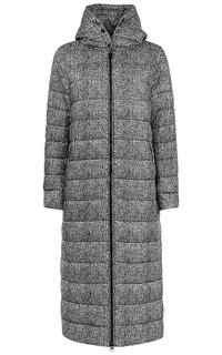 Длинное стеганое пальто на синтепоне Malinardi