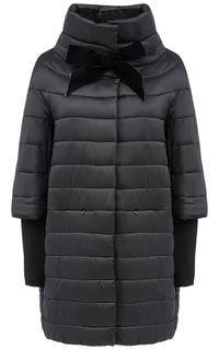 Куртка на синтепоне с отделкой трикотажем Compagnia Italiana