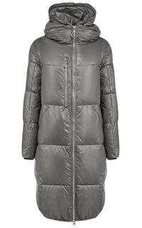 Пальто на синтепоне с отделкой трикотажем Malinardi
