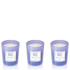 MUGLER Набор парфюмированных мини-свечей Angel 3 свечи х 70 г