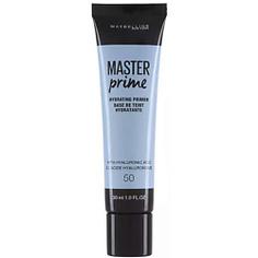 MAYBELLINE Основа под макияж Master Prime, увлажняющая № 50 Голубой, 30 мл