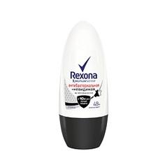 """REXONA Антиперспирант-ролик """"Антибактериальный и Невидимый на черном и белом"""" 50 мл"""