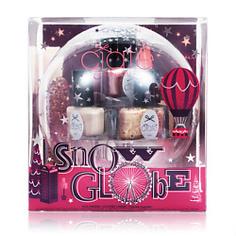 CIATE LONDON Набор мини-лаков для ногтей Snow Globe 6 оттенков лаков для ногтей по 5 мл + пилка для ногтей