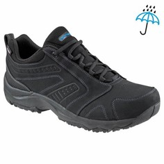 Мужская Обувь Для Спортивной Ходьбы Nakuru Novadry - Чёрная Кожа Newfeel