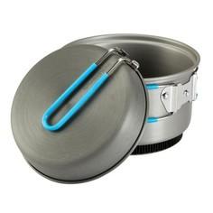 Прочный Походный Набор Посуды Из Алюминия На 2 Персоны (1,2 Л) Quechua