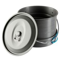 Походный Набор Посуды Из Прочного Алюминия На 6/8 Человек (5 Л) Quechua