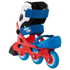 Роликовые Коньки Для Начинающих Play One Для Малышей - Синие И Красные Oxelo