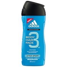 Adidas 3 В 1 After Sport Гель Для Душа И Шампунь Муж 250мл Coty Beauty LLC