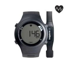 Часы-кардиометр С Кардиопоясом Onrythm 110 Чёрные Geonaute