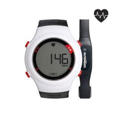 Часы-кардиометр С Кардиопоясом Onrhythm 110 - Чёрные И Белые Geonaute