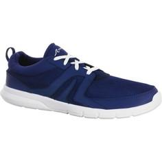 Мужская Обувь Для Спортивной Ходьбы С Сетчатым Верхом Soft 100 - Темно-синяя Newfeel