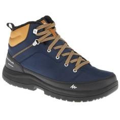 Ботинки Для Зимних Походов Мужские Sh100 Quechua