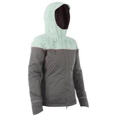 Теплая Женская Куртка-дождевик Для Велоспорта Velo 900 Btwin