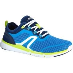 Обувь Для Спортивной Ходьбы Soft 540, Муж. - Синий/желтый Newfeel