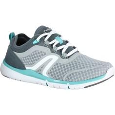 Женская Обувь Для Спортивной Ходьбы Soft 540 Mesh Серая/бирюзовая Newfeel